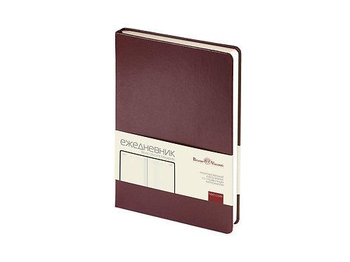 Ежедневник недатированный А5 «Megapolis», коричневый