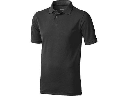 "Рубашка поло ""Calgary"" мужская, антрацит"