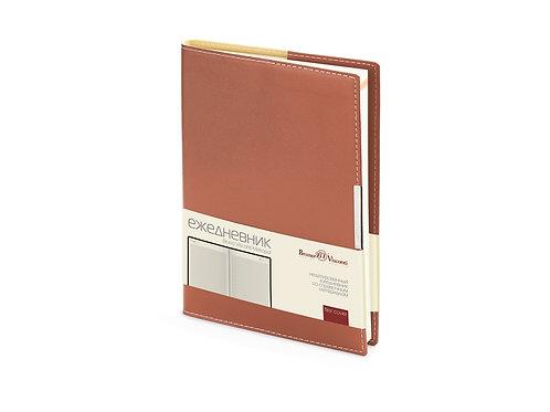 Ежедневник недатированный А5 «Metropol», коричневый