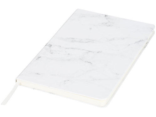 Блокнот А5 мраморный, белый
