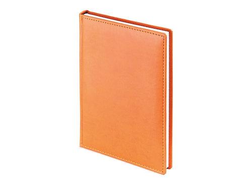 Ежедневник недатированный А4 «Velvet», оранжевый