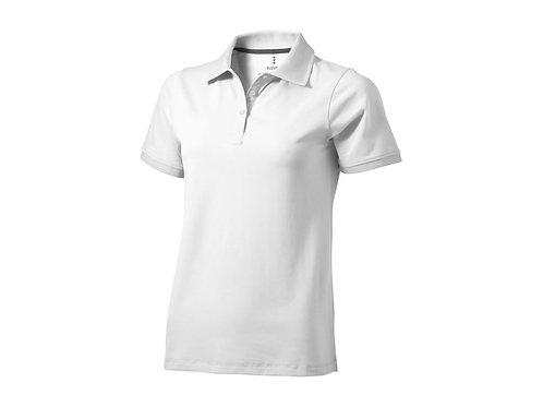 """Рубашка поло """"Yukon"""" женская, белый"""
