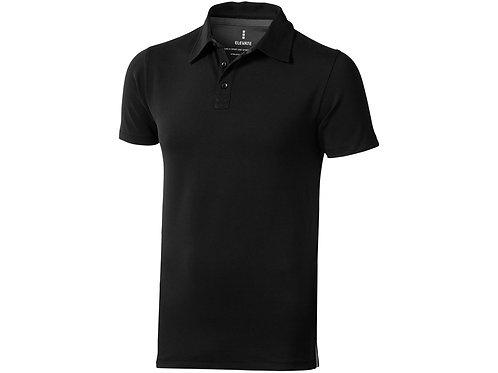 """Рубашка поло """"Markham"""" мужская, черный/антрацит"""