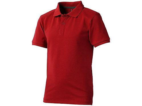 """Рубашка поло """"Calgary"""" детская, красный"""