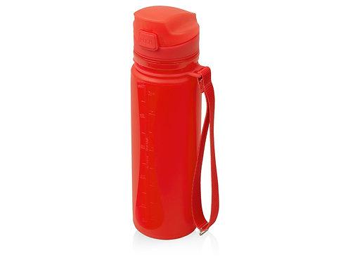 "Складная бутылка ""Твист"" 500мл, красный"