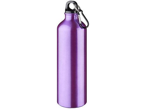 """Бутылка """"Pacific"""" с карабином, пурпурный"""