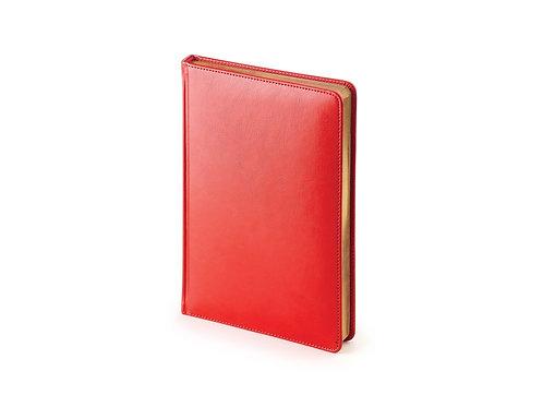 Ежедневник А5 датированный «Sidney Nebraska» 2019, красный