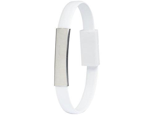 Bracelet Зарядный кабель 2-в-1, белый
