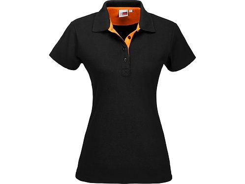 """Рубашка поло """"Solo"""" женская, оранжевый"""