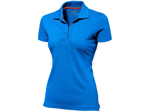 """Рубашка поло """"Advantage"""" женская, небесно-голубой"""