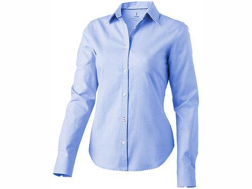 """Рубашка """"Vaillant"""" женская с длинным рукавом, голубой"""