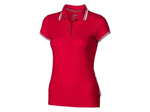 """Рубашка поло """"Deuce"""" женская, красный"""