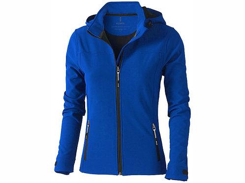 """Куртка софтшел """"Langley"""" женская, синий"""