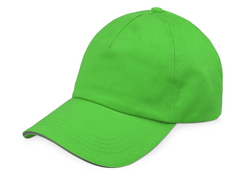 """Бейсболка """"Garnet"""" 5-ти панельная, зеленое яблоко"""