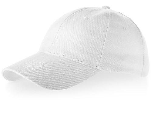 """Бейсболка """"Bryson"""", 6 панелей, белый"""