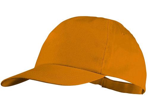 """Бейсболка """"Basic"""", 5-ти панельная, оранжевый"""