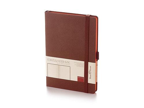 Ежедневник А5 недатированный «Monaco», коричневый