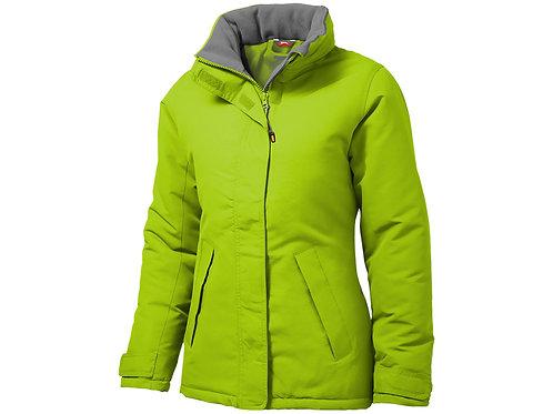 """Куртка """"Under Spin"""" женская, зеленое яблоко"""