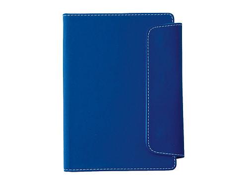 """Блокнот A5 """"Horsens"""" с шариковой ручкой-стилусом, синий"""