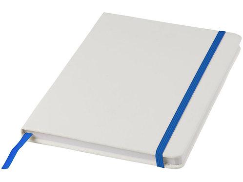 Блокнот А5 «Spectrum», белый/ярко-синий