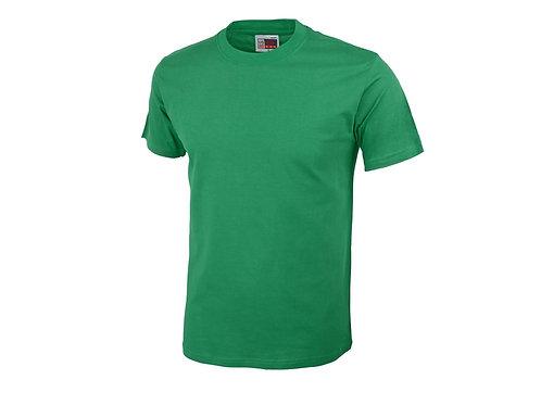 "Футболка ""Heavy Super Club C"" US Basic мужская, зеленый"