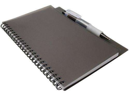 """Блокнот А5 """"Hyatt"""" с ручкой шариковой, черный"""