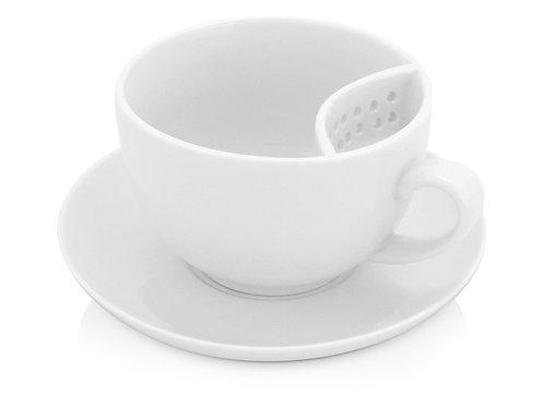 """Чайная пара """"Сиеста"""", белый"""