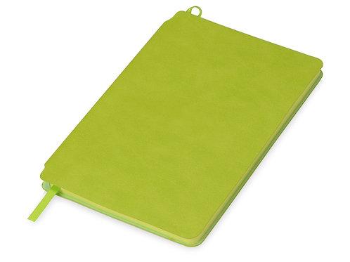 Блокнот «Notepeno» 130x205 мм с линованными страницами, зеленое яблоко