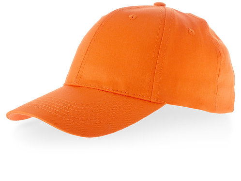 "Бейсболка ""Watson"", 6 панелей, оранжевый"