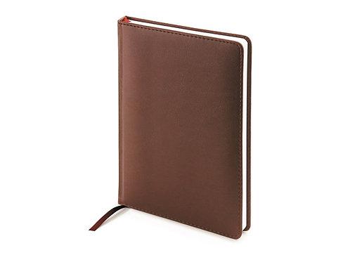 Ежедневник А5 недатированный «Leader», коричневый