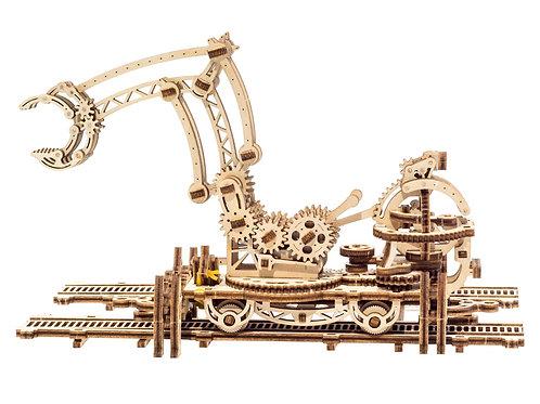 3D-ПАЗЛ UGEARS «Манипулятор на рельсах»
