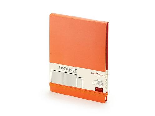 Блокнот А5 «Megapolis Reporter», оранжевый