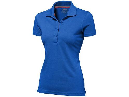 """Рубашка поло """"Advantage"""" женская, кл. синий"""