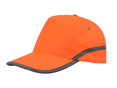 """Бейсболка 5-ти панельная """"Neon"""", оранжевый"""