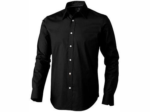 """Рубашка """"Hamilton"""" мужская с длинным рукавом, черный"""