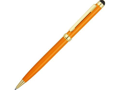 """Ручка шариковая """"Голд Сойер"""" со стилусом, оранжевый"""