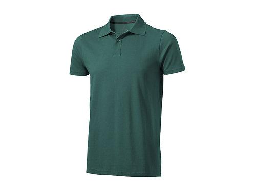 "Рубашка поло ""Seller"" мужская, изумрудный"