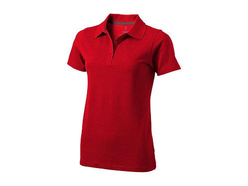 """Рубашка поло """"Seller"""" женская, красный"""