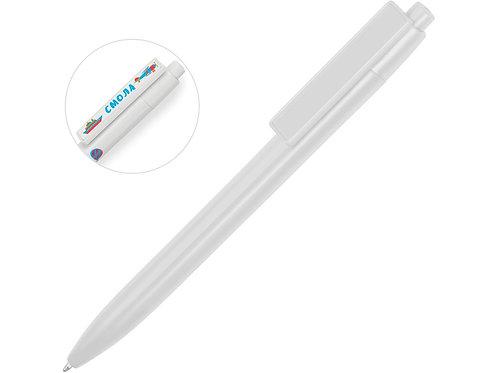 Ручка пластиковая шариковая «Mastic» под полимерную наклейку, белый