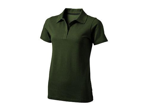 """Рубашка поло """"Seller"""" женская, армейский зеленый"""