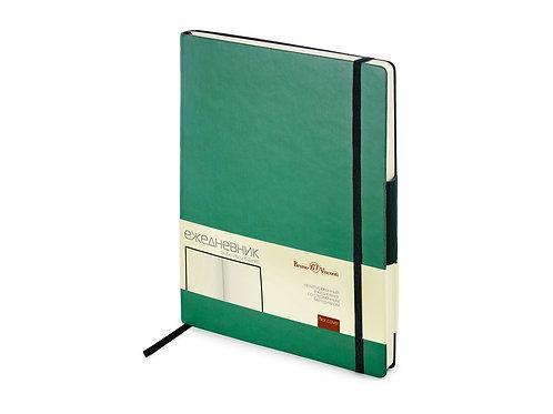 Ежедневник В5 недатированный «Zenith», зеленый