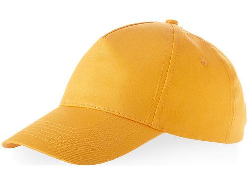 """Бейсболка """"Memphis C"""" 5-ти панельная, оранжевый"""