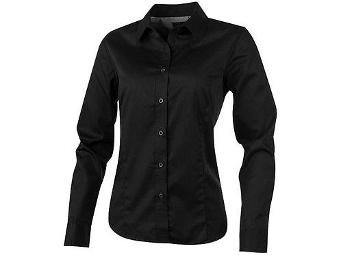 """Рубашка """"Wilshire"""" женская с длинным рукавом, черный"""