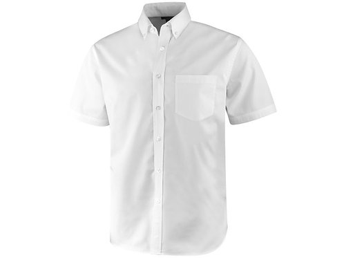"Рубашка ""Stirling"" мужская с коротким рукавом, белый"