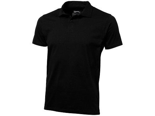 """Рубашка поло """"Let"""" мужская, черный"""