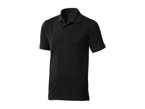 """Рубашка поло """"Calgary"""" мужская, черный"""