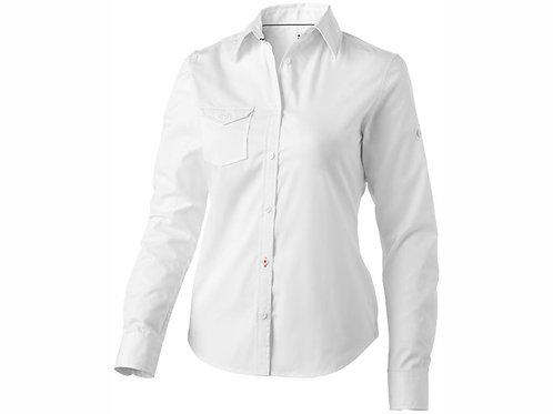 """Рубашка """"Nunavut"""" женская с длинным рукавом, белый"""
