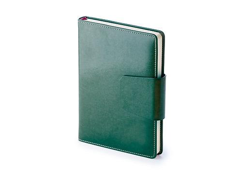Ежедневник А5 недатированный «Prestige», зеленый