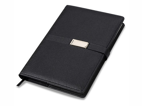 "Блокнот А5 ""USB Journal"", черный. Lettertone"