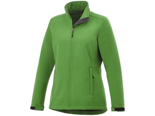 """Куртка софтшел """"Maxson"""" женская, папоротник зеленый"""